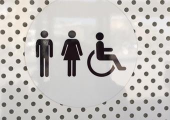 Toilet parkeergarage zondag open